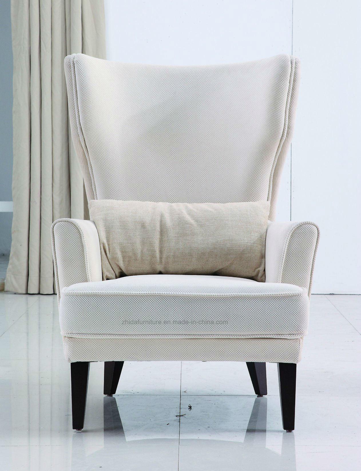 China High Back Arm Chair King Chair Hotel Lobby Chair China Sofa Chair Livingroom Furniture