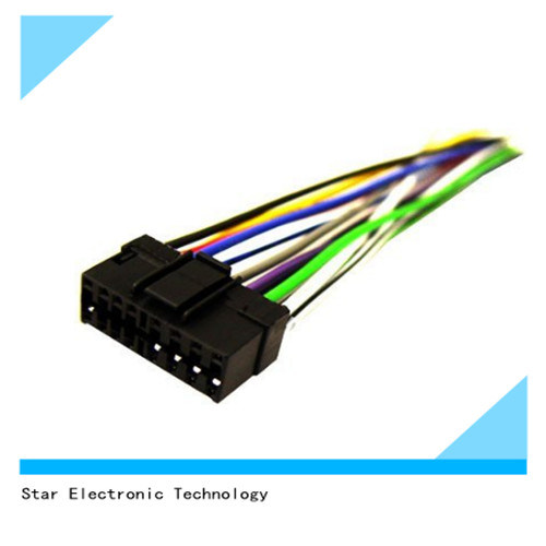 china factory oem automotive car 16 pin iso wire harness for sony rh starconnect en made in china com