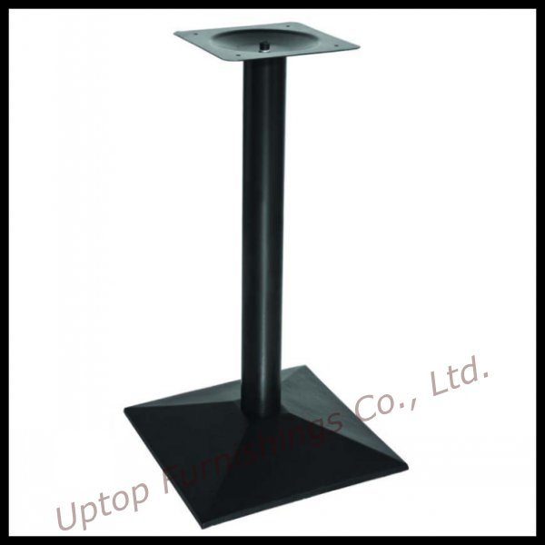 Gentil China Single Leg Square Cast Iron Black Dining Table Base (SP MTL143)    China Dining Table Base, Metal Leg
