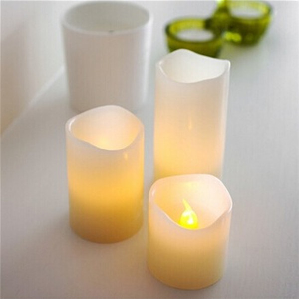 PP with Wax Material and LED Candle Type LED Candle