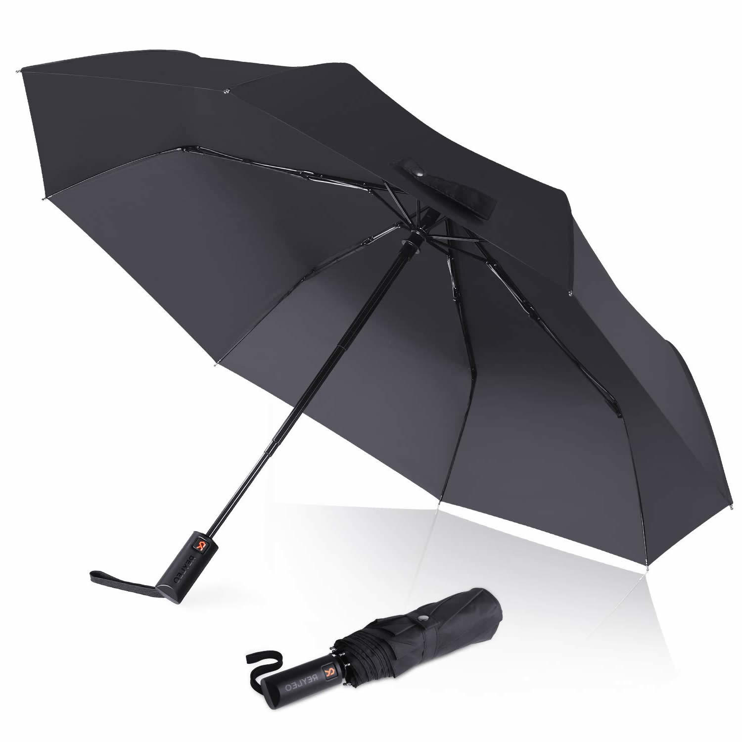Custom The time tunnel Compact Travel Windproof Rainproof Foldable Umbrella