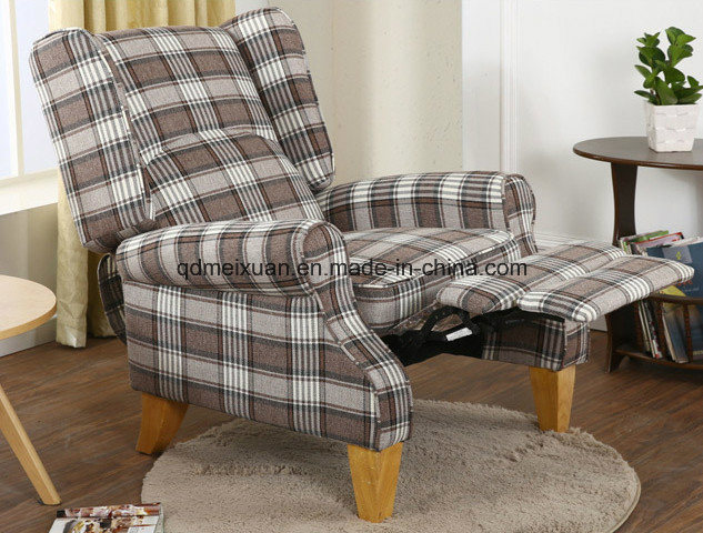 American Country Style Wooden Feet Sofa