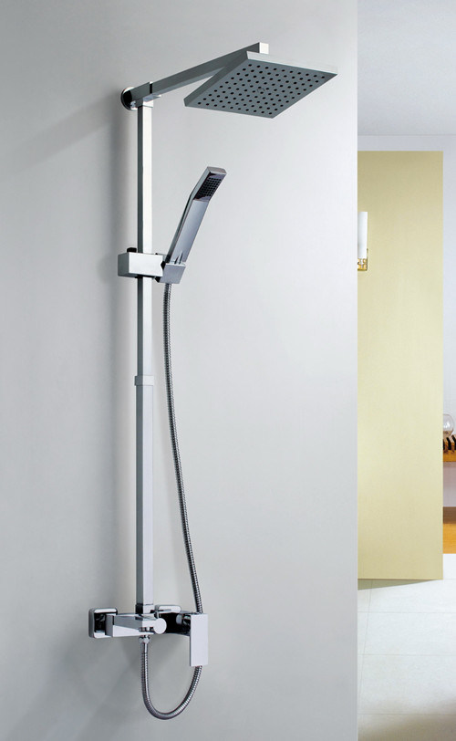 China Wall Hung Square Shower Head and Hand Shower - China Shower ...