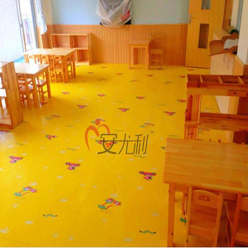 China Eco Friendly Child Room Pvc Vinyl Floor For Indoor Flooring