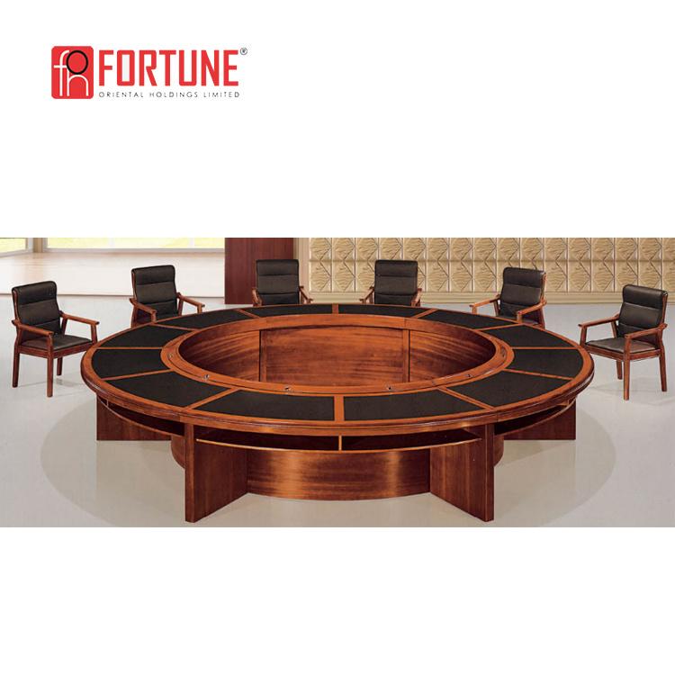 China Big Round Wood Veneered MDF Meeting Table China Meeting - Large round meeting table