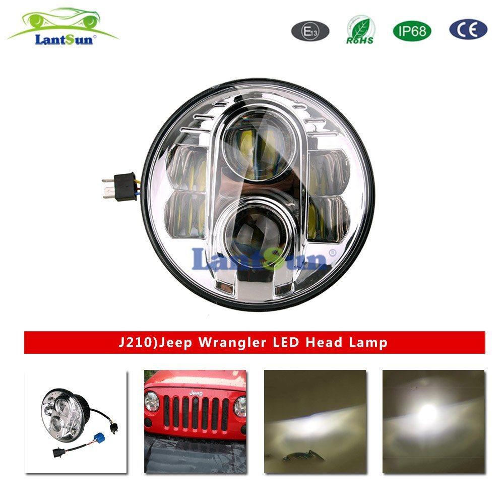 China 7led Head Light For Jeep Wrangler Jk J210 Led Bulb