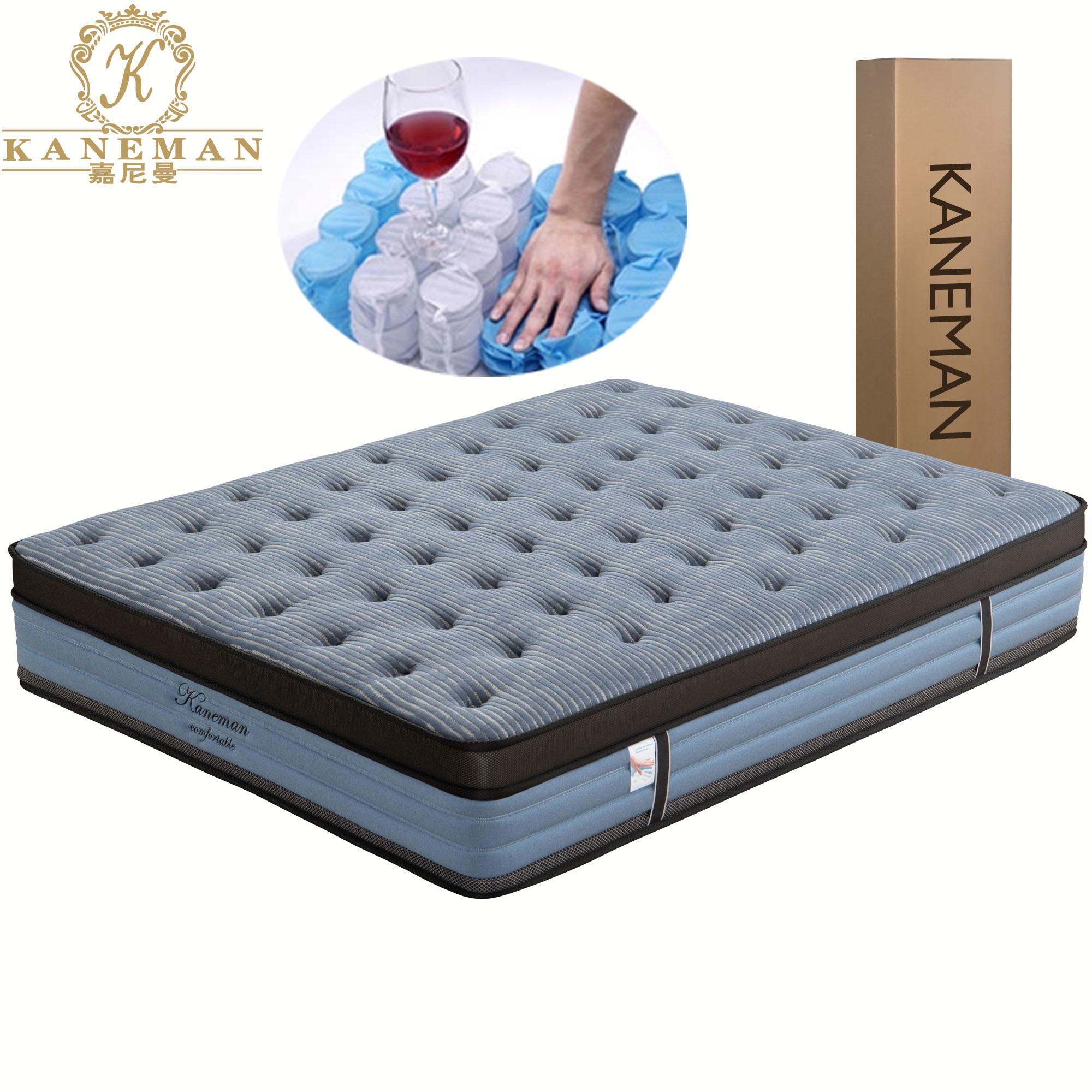 Queen Size Bed Mattress Roll Up Latex