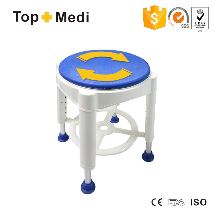 China Bathroom Safety Product Rotatable Bath Shower Chair Stool with ...