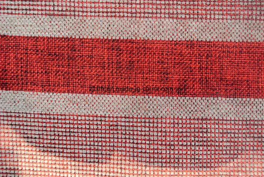 Striped Upholstery Fabric For Sofa