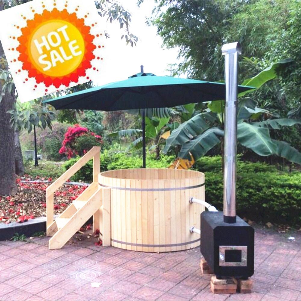 China New Wonderful Hot Tubs Jacuzzi Wood Hot Tub with Cheap Price ...