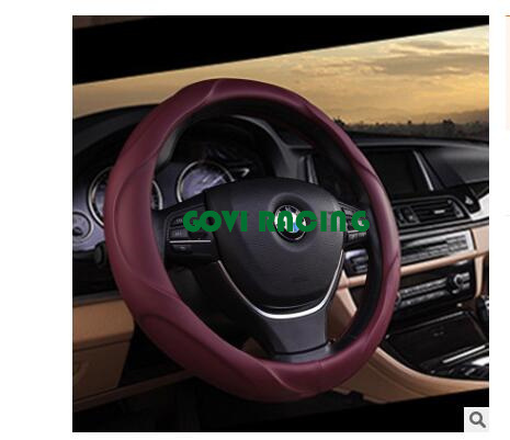 china red auto steering wheel covers silicone hose 36 38 40cmred auto steering wheel covers silicone hose 36 38 40cm