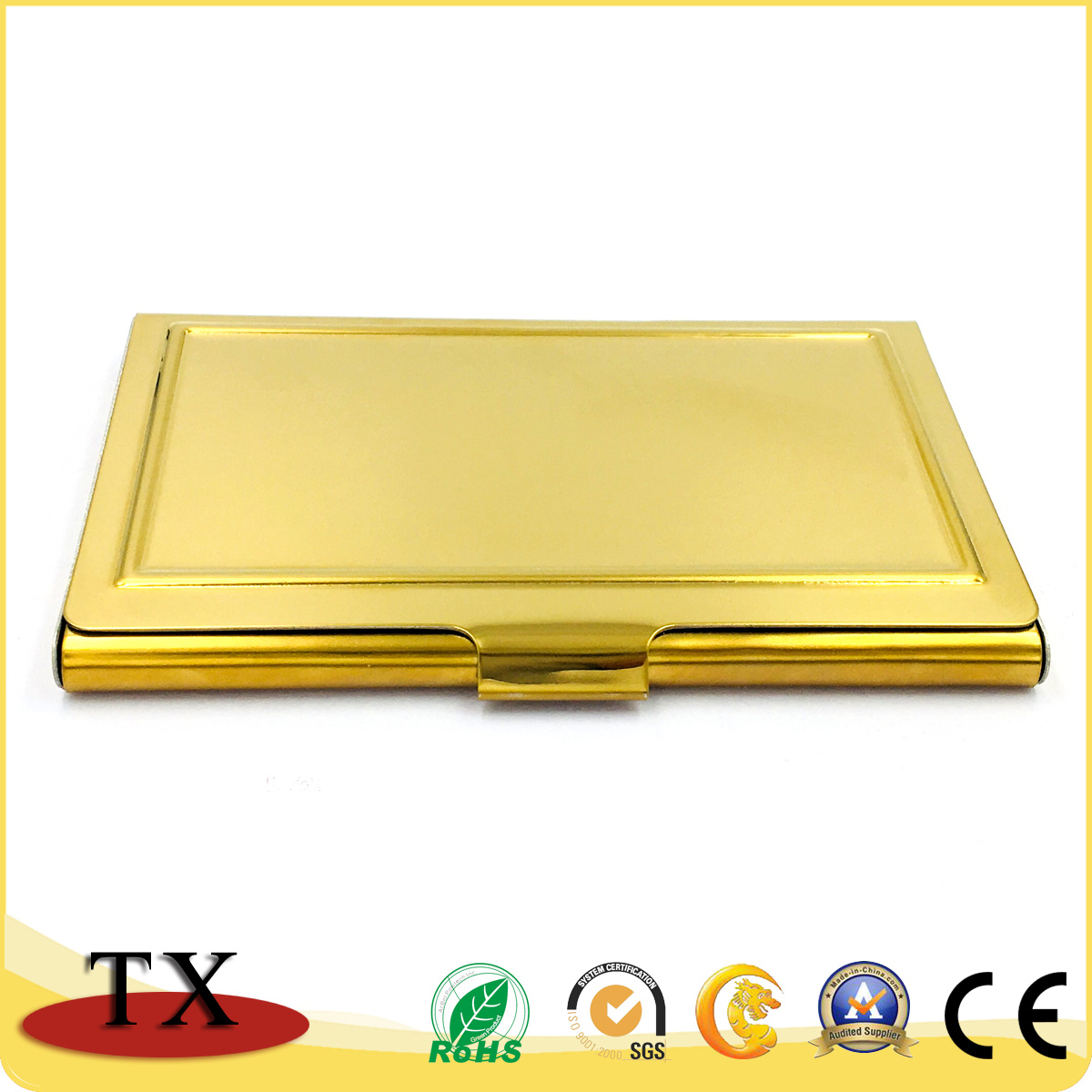China Gold Stainless Steel Business Card Holder for Gift Items ...