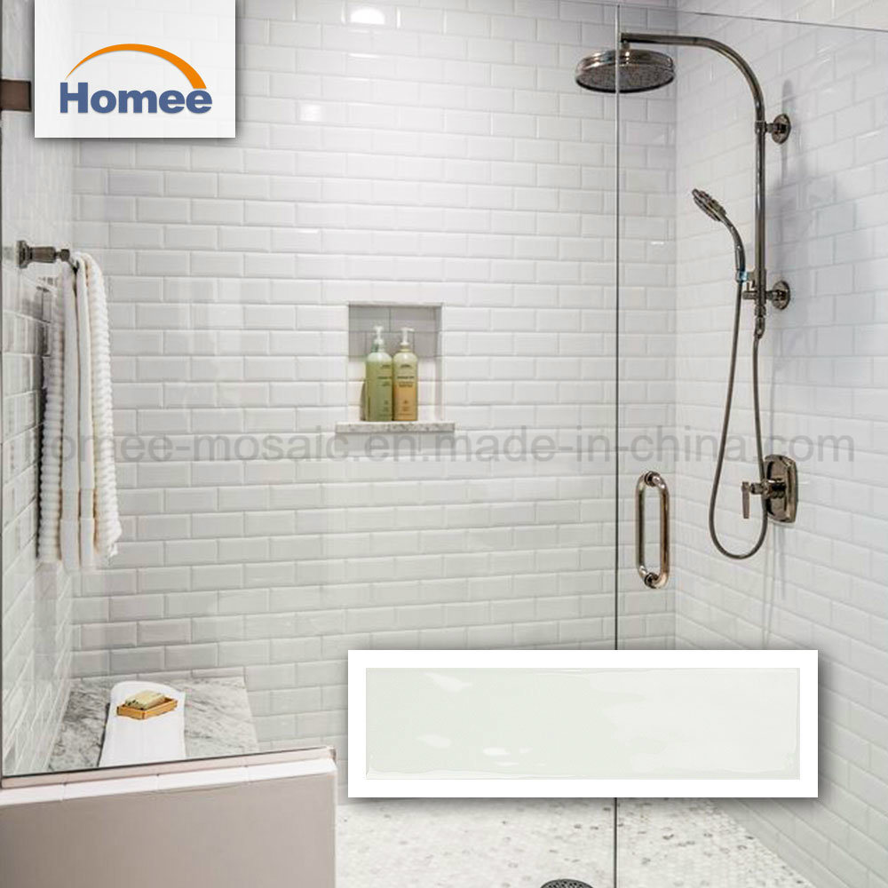 China White Subway Mosaic Tiles Bathroom Wall Tile New Ceramic Tiles ...