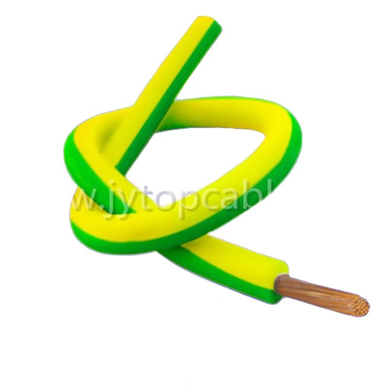 China 2.5mm Colored Copper Single Core Flexible PVC Electric EL Wire ...