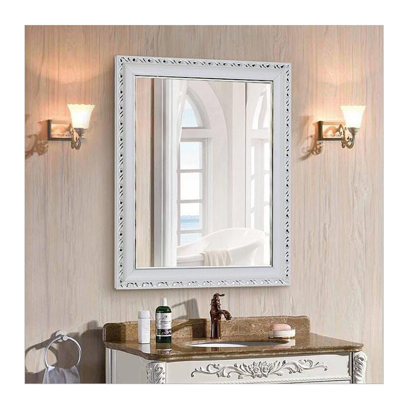 China European Style Retro Frame Bathroom Mirror Vanity Bathroom Vanity Mirror China Cosmetic Mirror Decorative Mirror