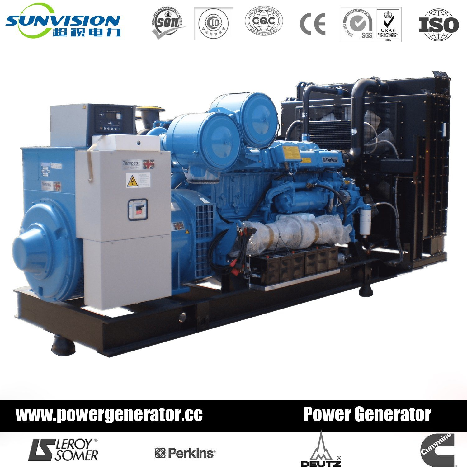 China 2000kVA Reliable Diesel Generator Set by Perkins Engine - China  Generator Set, Diesel Generator