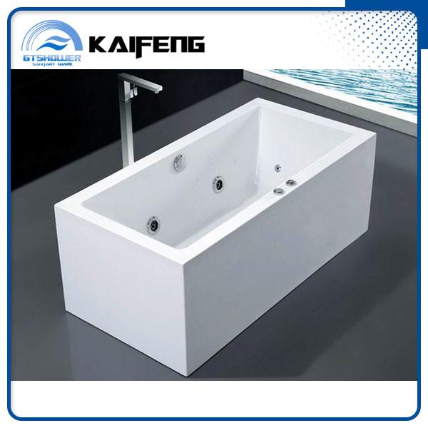 China Single Free Standing Whirlpool Tub (KF-737K-C) - China Free ...