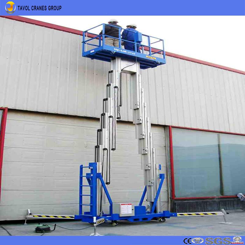 China Personnel Single Man Aerial Lift Scissor Boom Work Platform