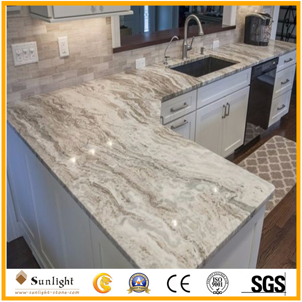 Por Fantasy Brown Marble Granite Bathroom Kitchen Worktops Vanity Tops
