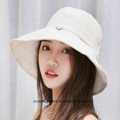 ea44b5f3154 China Fashion Ladies Cotton Bucket Hat