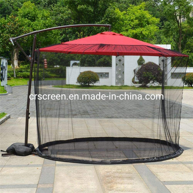 China Outdoor Patio Umbrella Mosquito Net Shade Patio Bug Screen Mosquito Netting China Mosquito Netting And Umbrella Mosquito Netting Price
