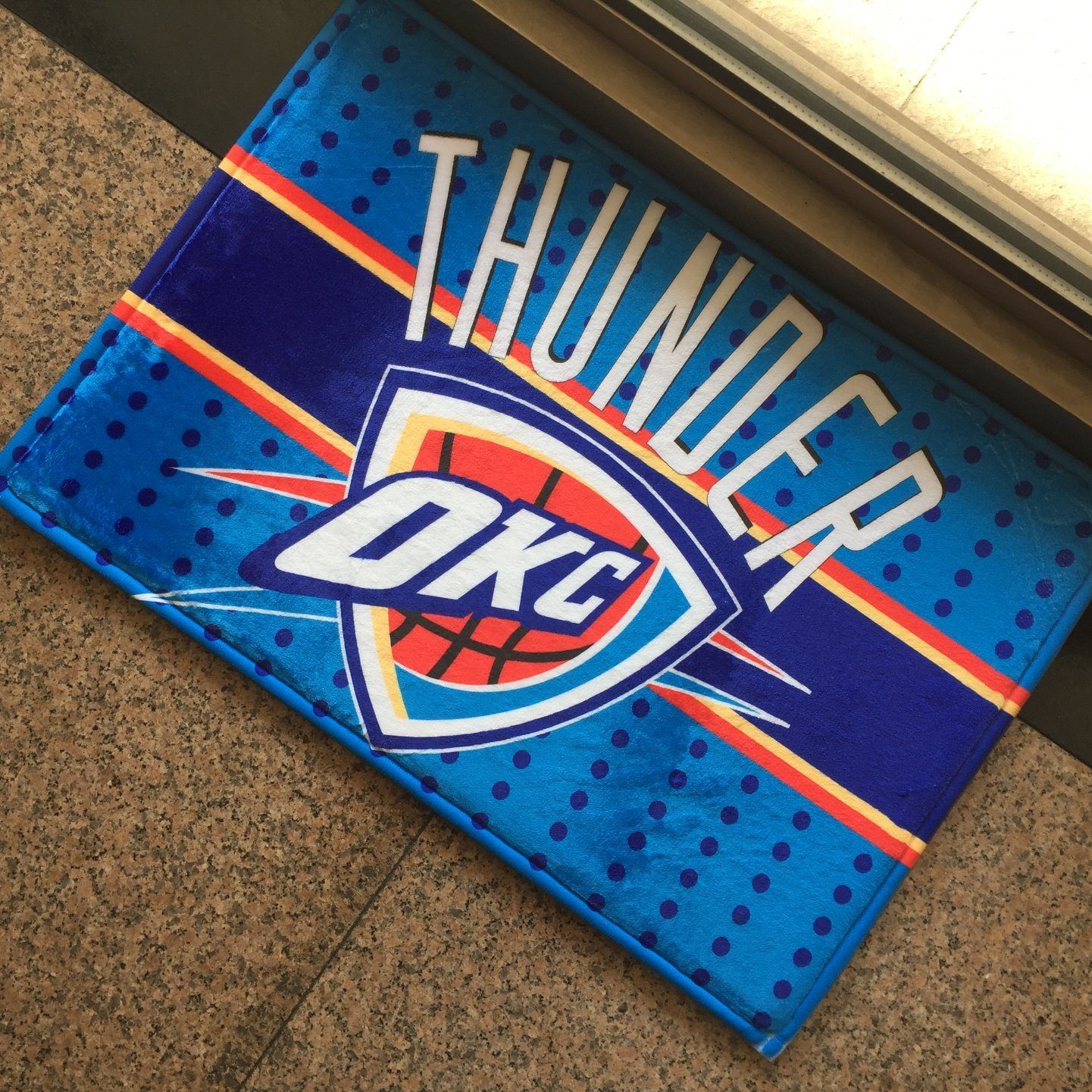 Logo Sport Team Promot Promotional Gifts Advertising Event Giveaways Dodgers Printing/Print Dye Sublimation Indoor Outdoor Door Welcome Entrance Floor Rugs