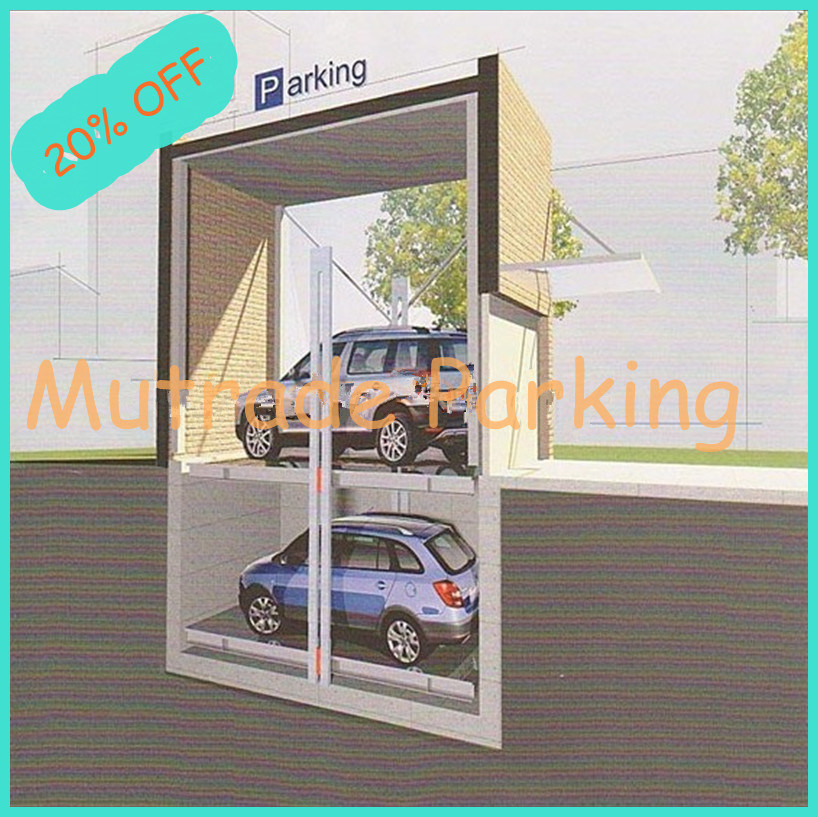 China Underground Car Storage Parking Lift Ptpp 2 Garage Pit