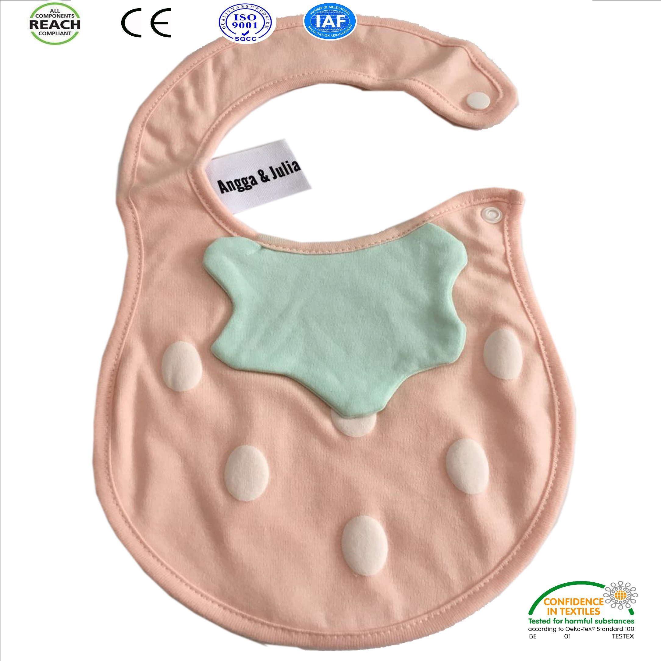 Customized Design Promotional Baby Bibs