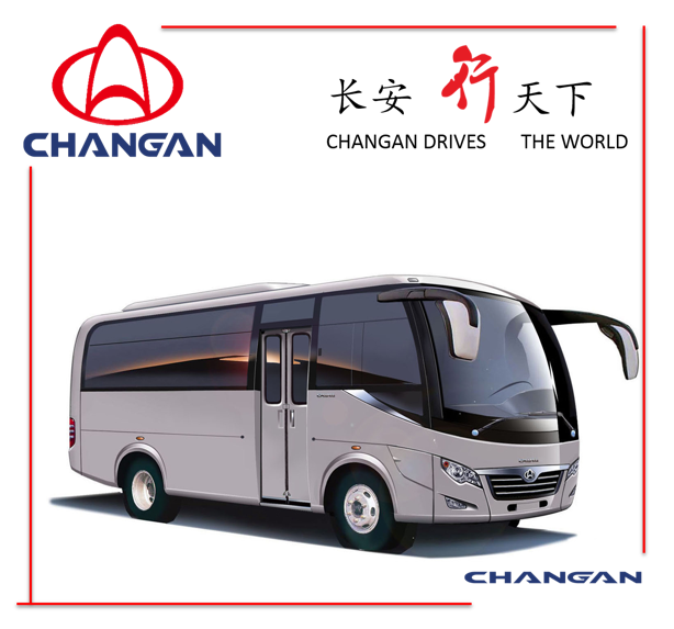 Changan Coaster Bus Minibus 15-30 Seats Diesel Low Price pictures & photos