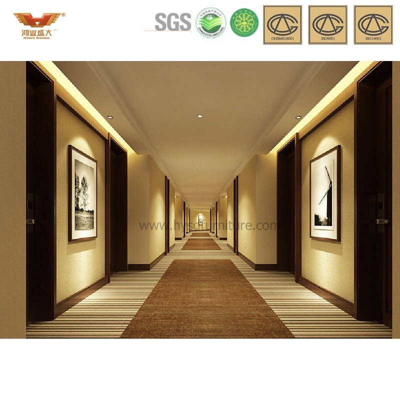 China corridor walls for modern 5 star hotel furniture for Hotel corridor decor