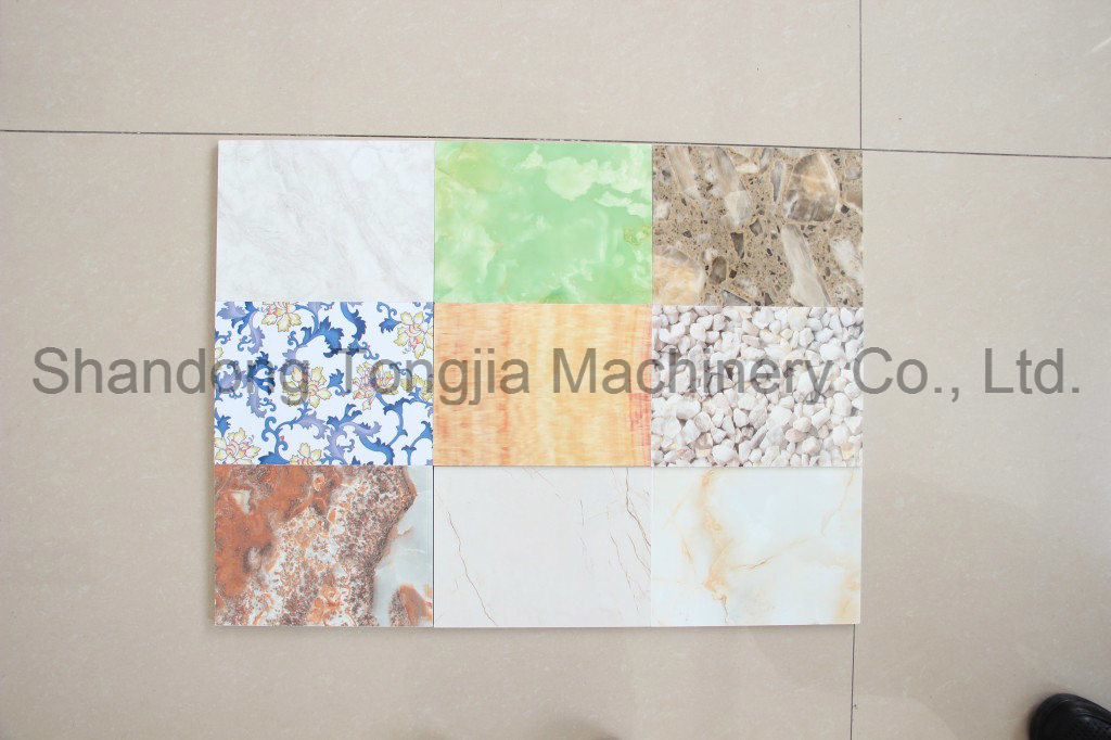 PVC Marble-Imitated (Foamed) Decoration Board Production Line pictures & photos