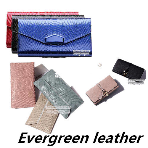 China New Style Lady Leather Wallet Women Purse Ladies Bags Designer