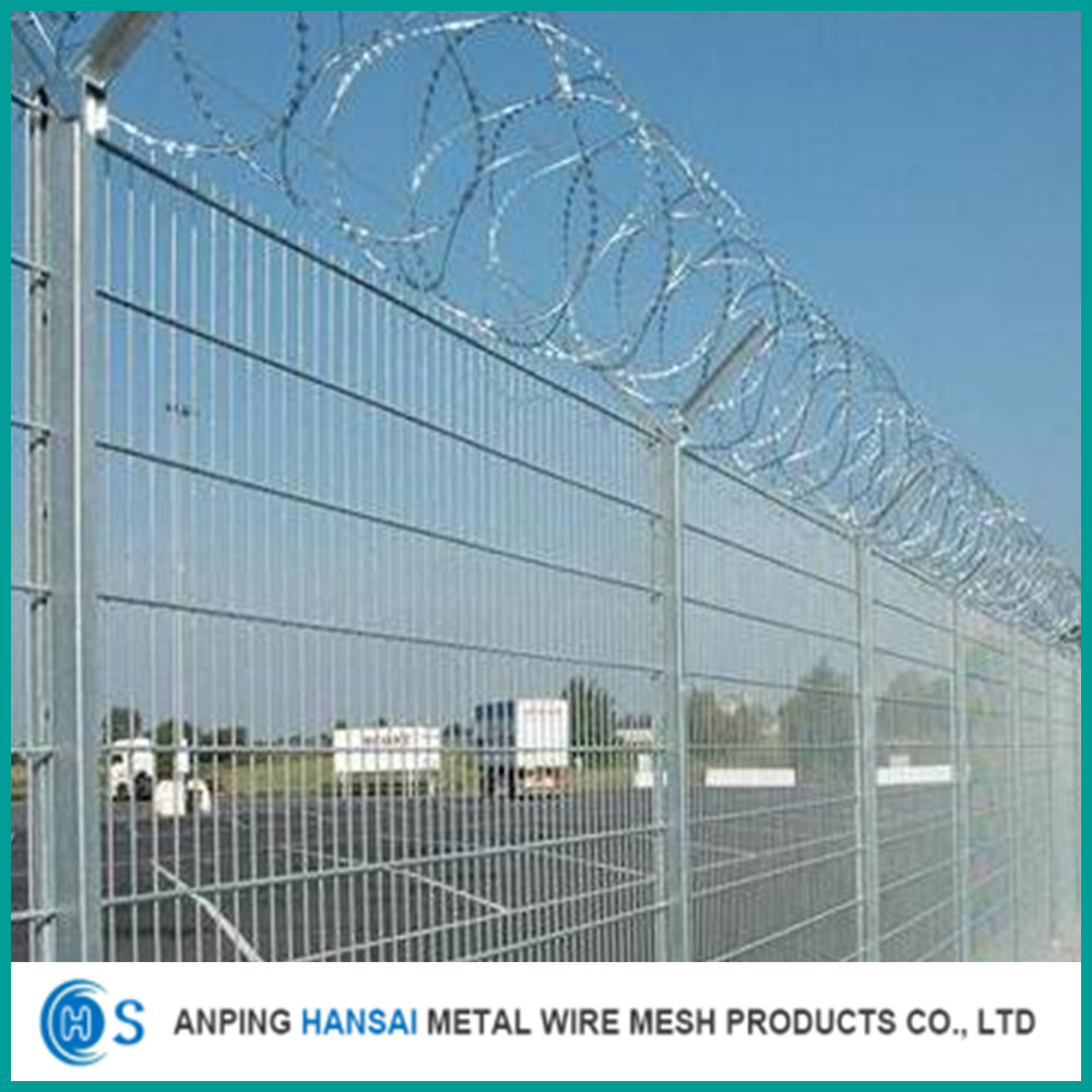 China Commercial Welded Wire Mesh Fence 3D Models 3D Curved Fencing ...