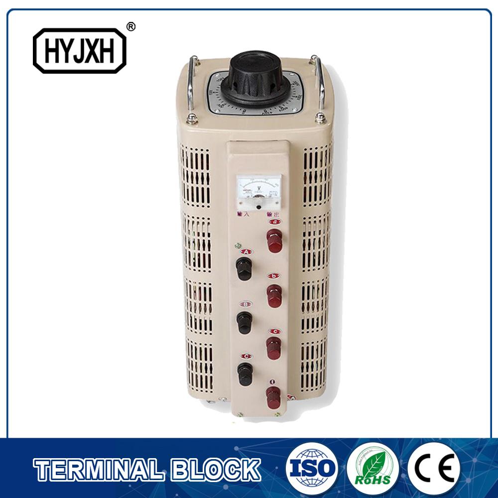 China Three Phase 380v Variable Ac Voltage Regulator Variac Adjustable 3 Ampere Transformer Powerstat