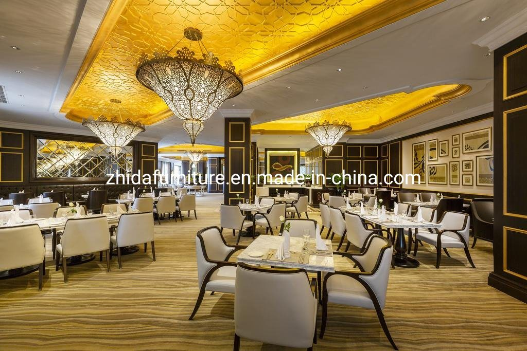 China Customized Luxury Modern Chair Table Furniture Set For Hotel Restaurant Photos Pictures Made In China Com