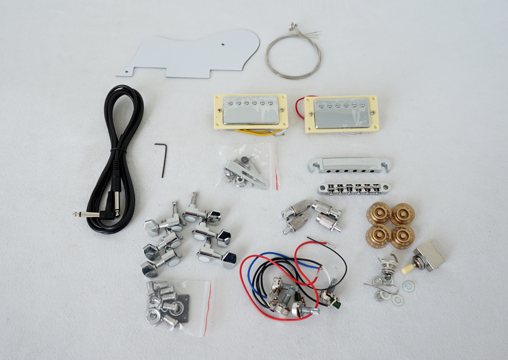 China DIY All Handmade Electric Guitar Kits Jazz Electric Guitar ...