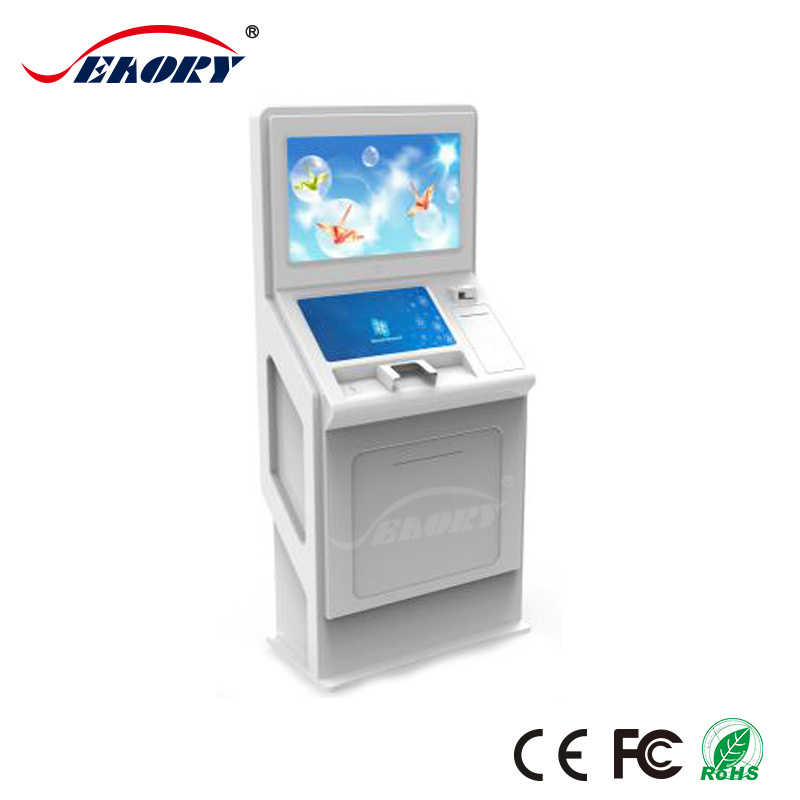 China Display Interactive Business Card Dispenser Kiosk with 17 Inch ...