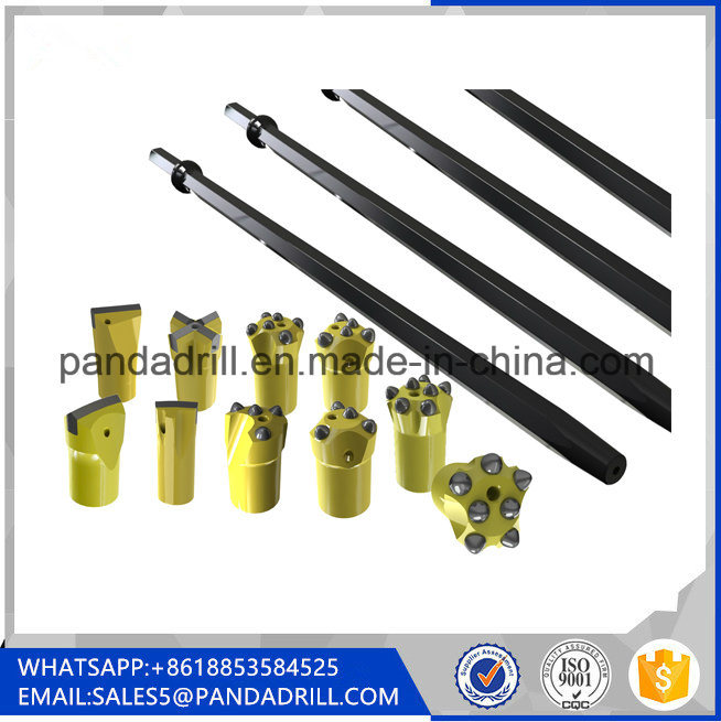 Integral Steel Plug Hole Rod For Stone Drilling