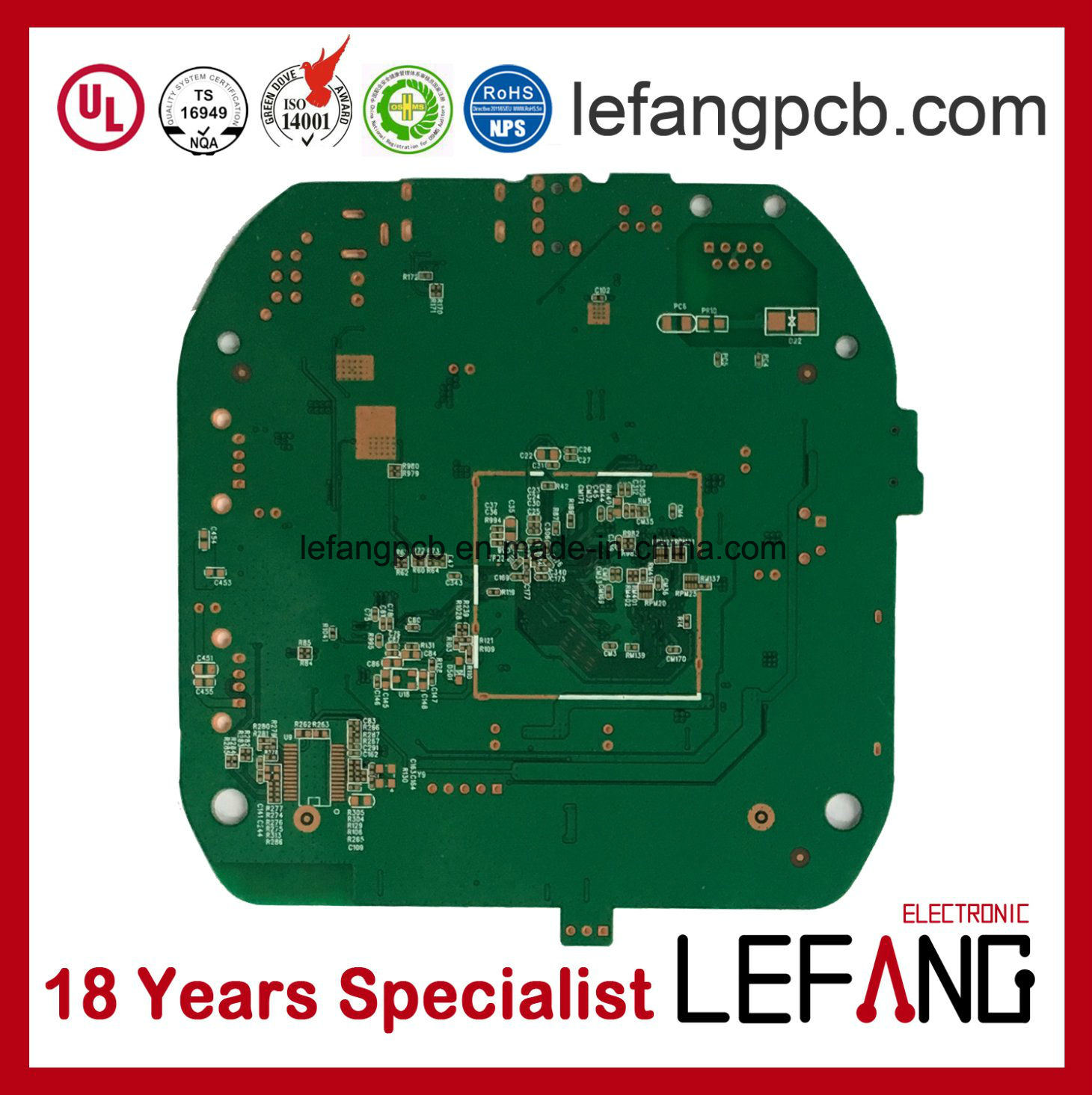 China Osp Printed Circuit Board Pcb With Green Solder Mask Photos Boards Buy Boardspcb