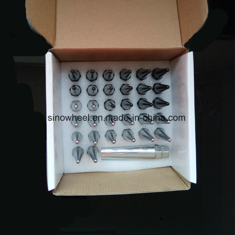 China High Quality Carbon Steel Bullet Wheel Nuts 14X1 5