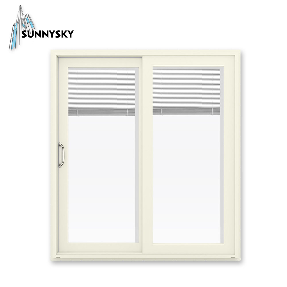 China Simple Grille Design Modern House Exterior Waterproof Aluminum Sliding Window China Champagne Color Aluminum Sliding Window Sliding Window 24 X 12