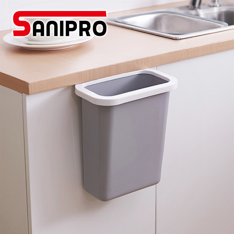 China Sanipro Attached Kitchen Cabinet, Kitchen Cabinet Door Mounted Trash Can