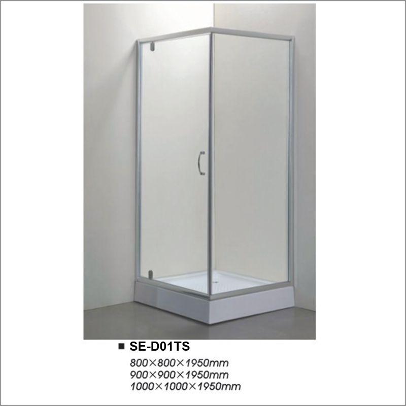 China 5~6mm Thick Two-Door Corner Shower Stall - China Shower ...