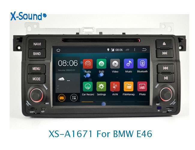 China 2 DIN Android 8 0 Car DVD Player for BMW E46 with GPS