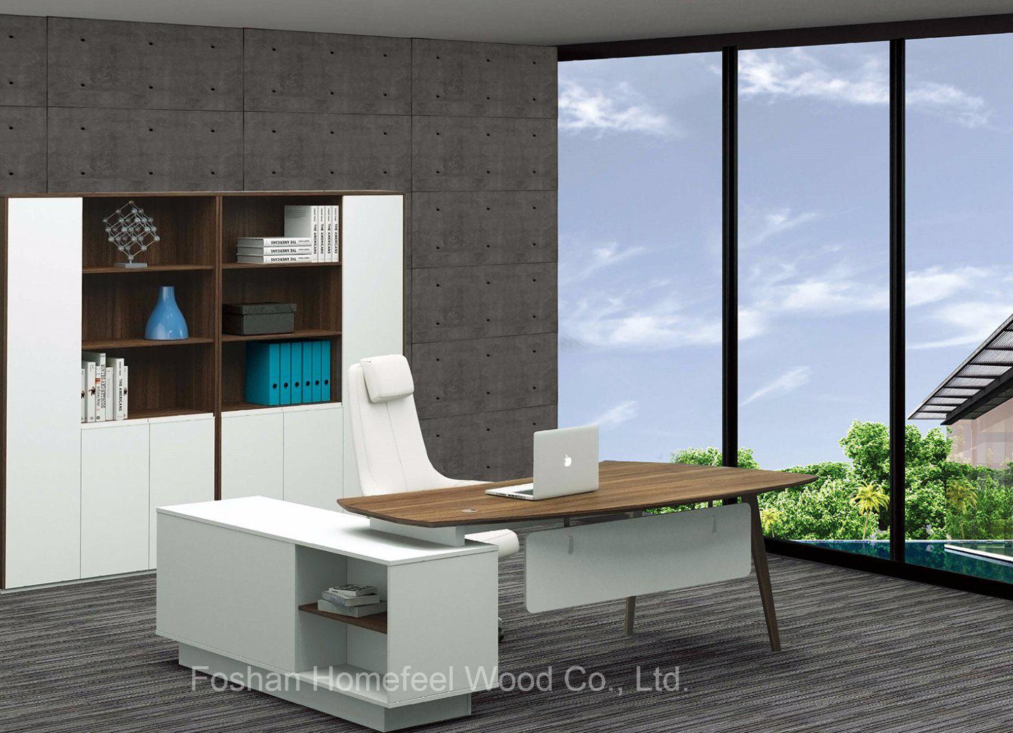 simple design business office. Modern Business Office Simple Design Curved Manager Desk (HF-BSA02) I