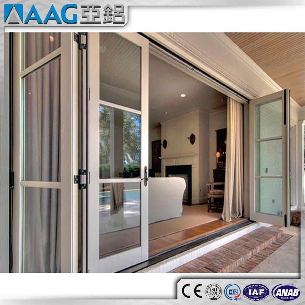 China Aluminum Bi-Folding Door/Aluminium Folding Door/Multi-Leaf ...