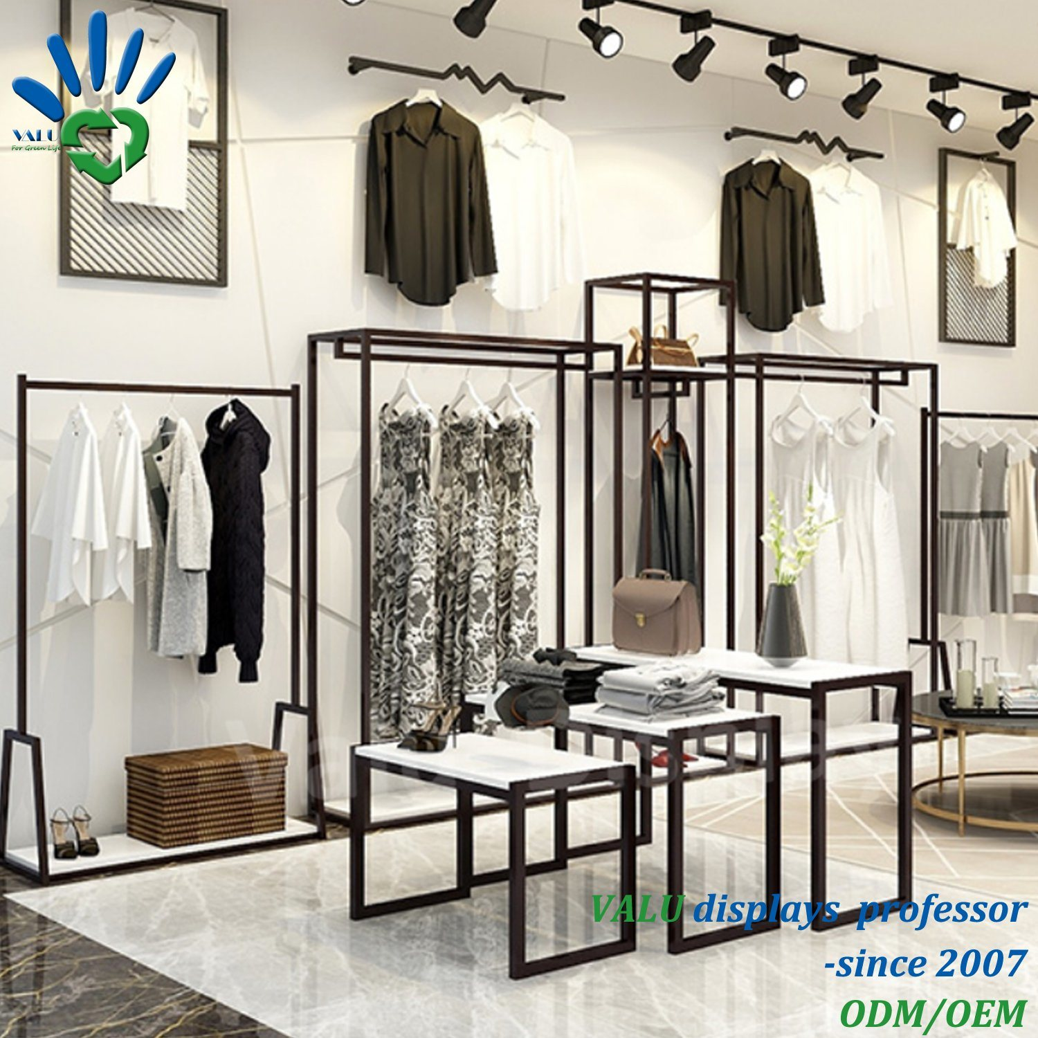 [Hot Item] Fashion Design Clothes Shop Interior Design, Garment Shop  Decoration, Clothing Store furniture