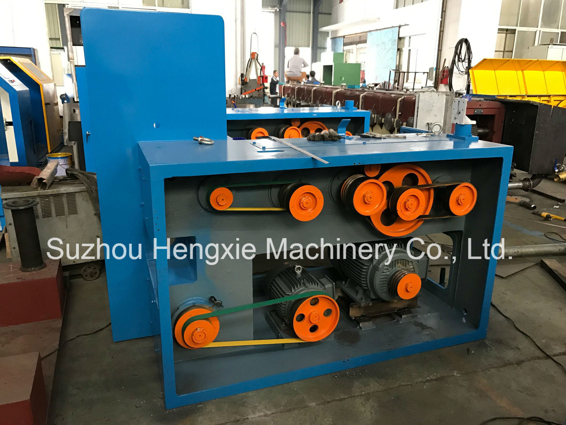 China Hxe-26dw Fine Copper Wire Drawing Machine 1 Photos & Pictures ...
