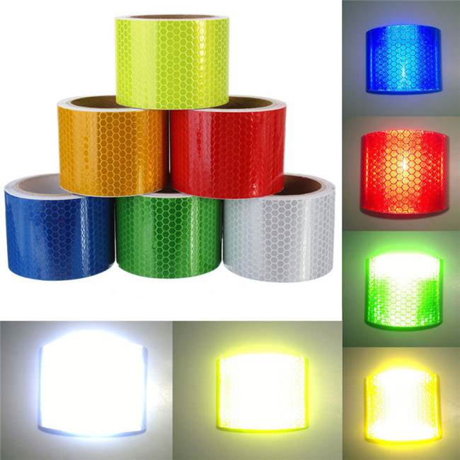 China Wholesale PVC Self Adhesive Reflective Safety Caution Tape (C3500-OX)