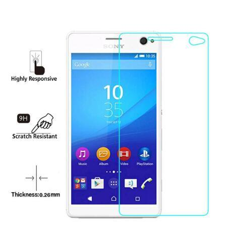 Tempered Glass/ Screen Protector for Sony